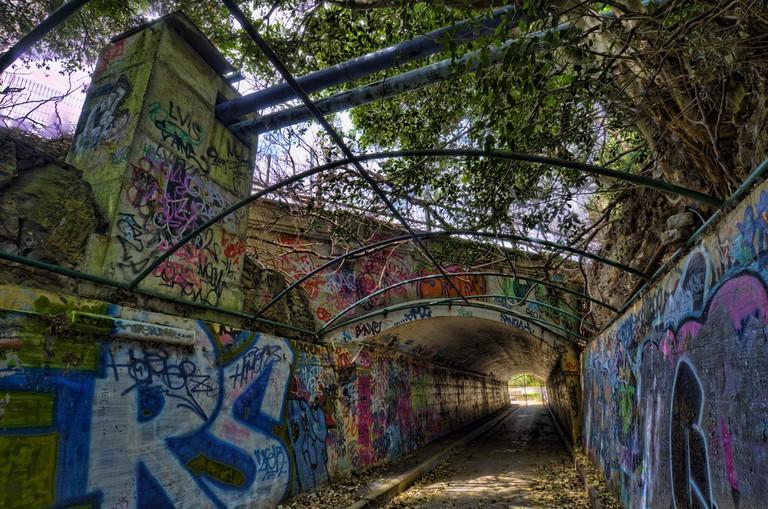 Gladesville Mental Hospital tunnel under Victoria Road © Frederick Manning / Flickr