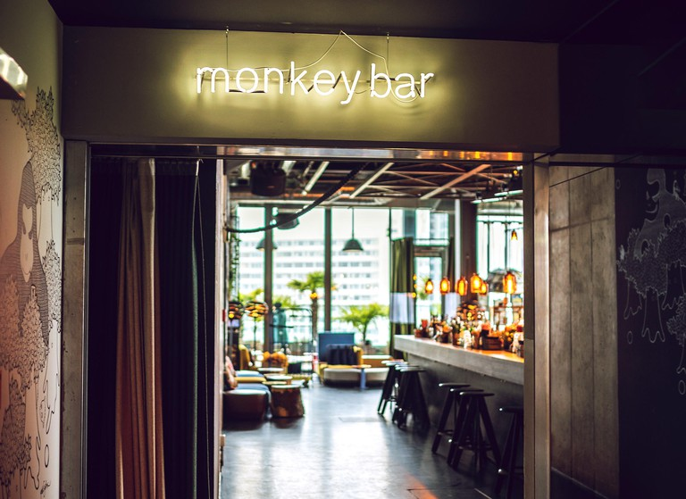 The bar staff at Monkey Bar often base their cocktail recipes on inspiring places around the world