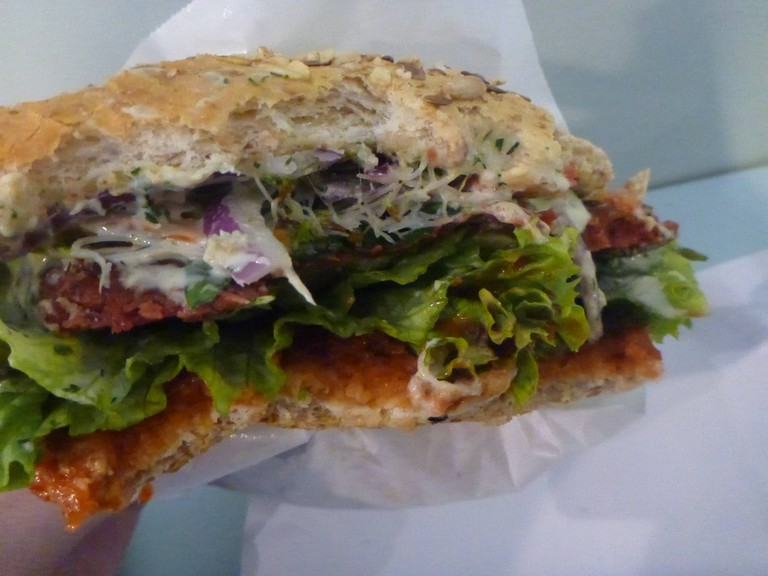 Krowarzywa Vegan Burger | © Northern Irishman in Poland