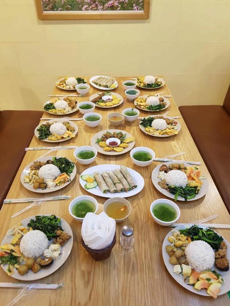 A vegetarian feast!