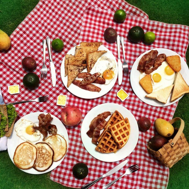 Master's Cup breakfast