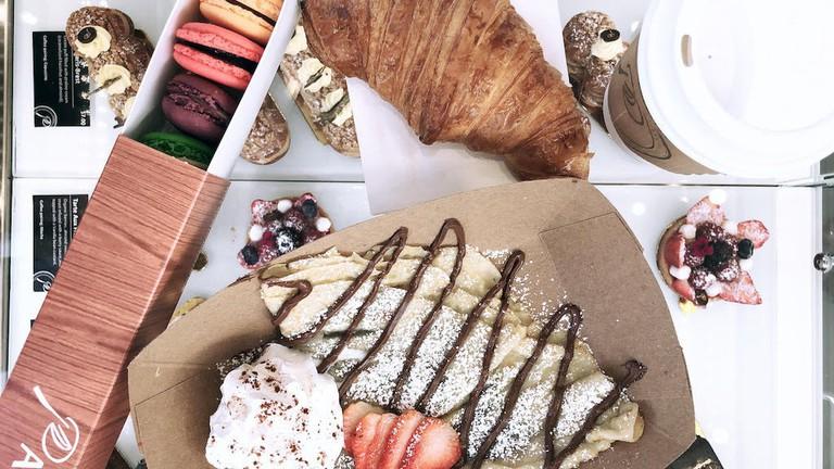 Le Parfait Paris bakes a variety of pastries and desserts.