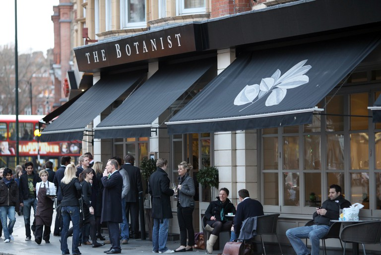 The Botanist in Sloane Square is a Chelsea classic