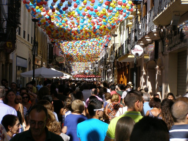Ronda's September fair is a giant street party