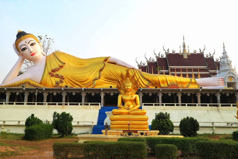 Buddha of Denchai District, Phrae, Thailand