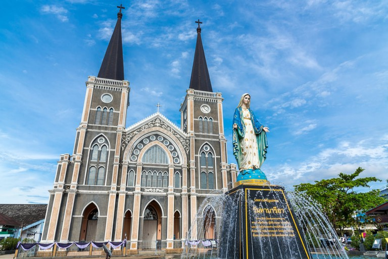 Cathedral of the Immaculate Conception in Chanthaburi, Thailand