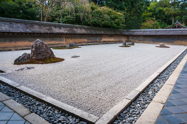 Ryōan-ji Temple is home to Japan's most-visited rock garden