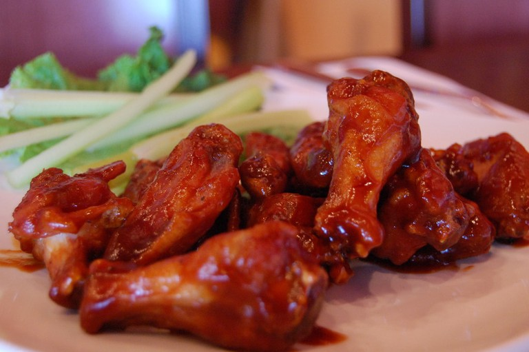 Settle in for some tasty wings at Chicken Bros
