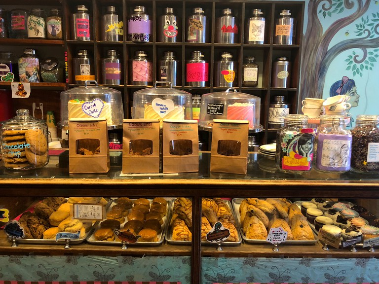 A touch of whimsy imbues everything at Alice's Tea Cup