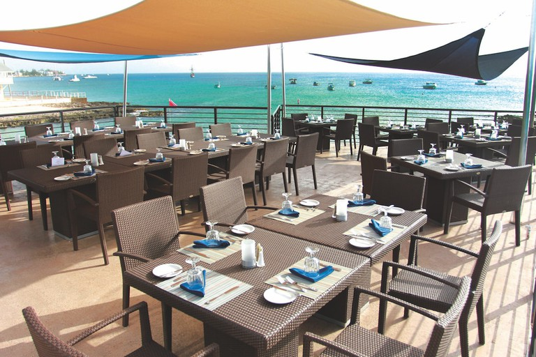 The Lobster Pot deck - Photo Credit The Lobster Pot