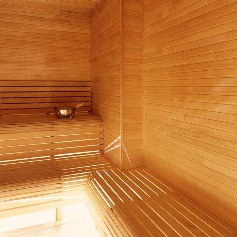 The sauna at Artesia Spa Majorstuen, Courtesy of Artesia Spa