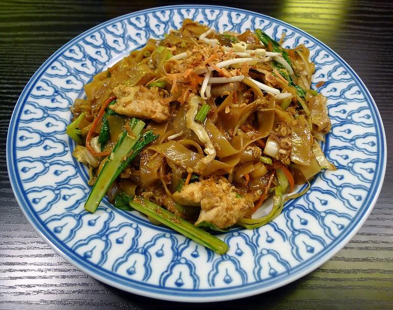 fried kueh teow