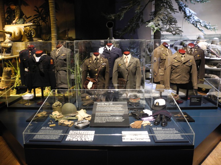 Exhibit at Wisconsin Veterans Museum | © kenneth casper/flickr