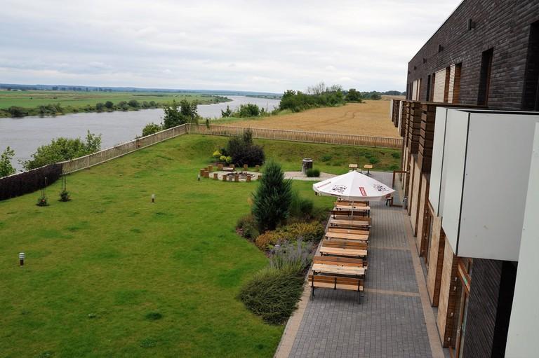 View of the Wisła River in Tczew | © Hotel nad Wisłą & Gościniec