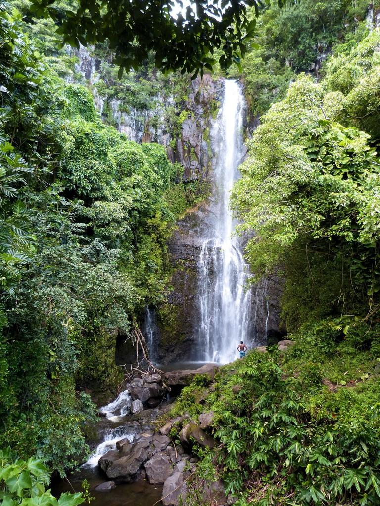 Wailua Falls, Maui | © James Brennan/Flickr