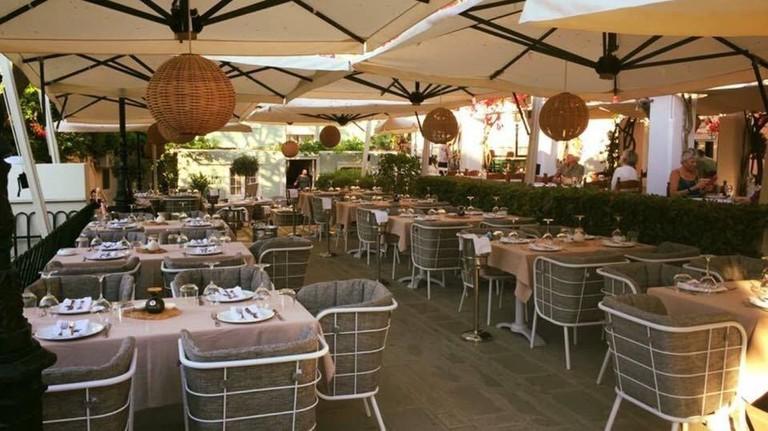 Nolita restaurant, in Corfu
