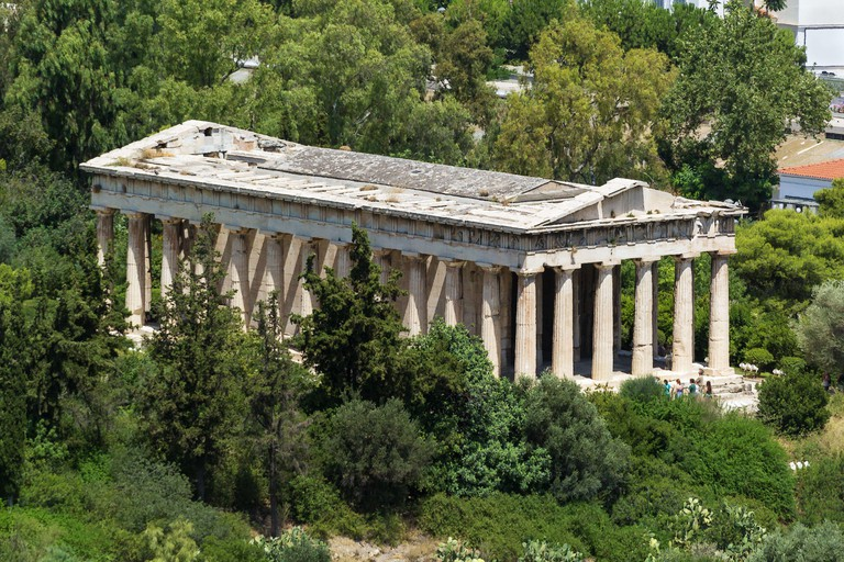 Temple of Hephaestus, Athens. Image shot 06/2019. Exact date unknown.