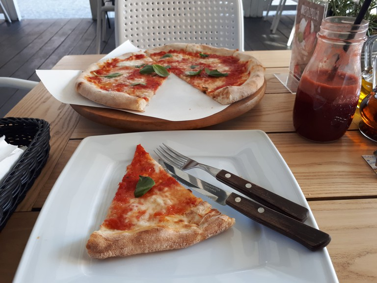 Pizza at Stare Metropolis | © Northern Irishman in Poland