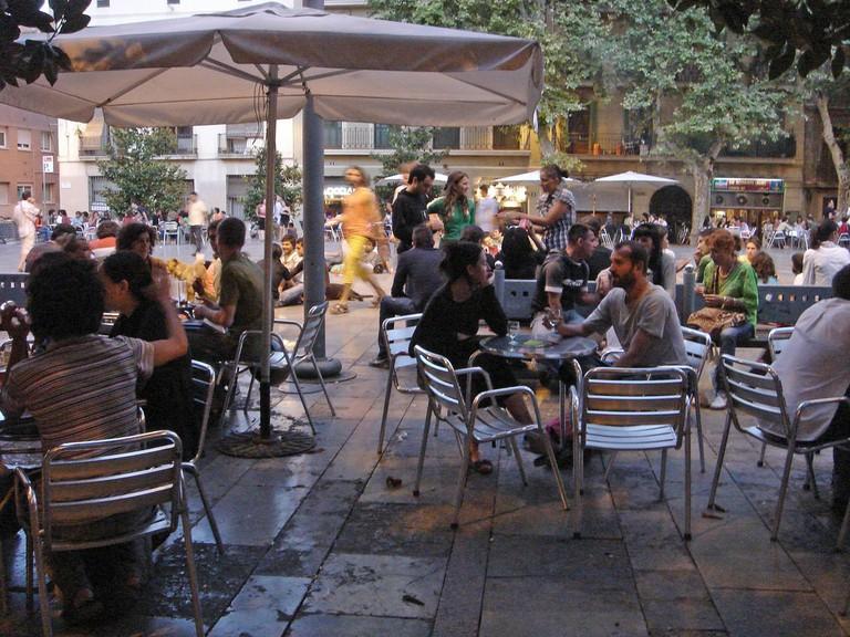 Plaça del Sol in Gràcia © IK's World Trip
