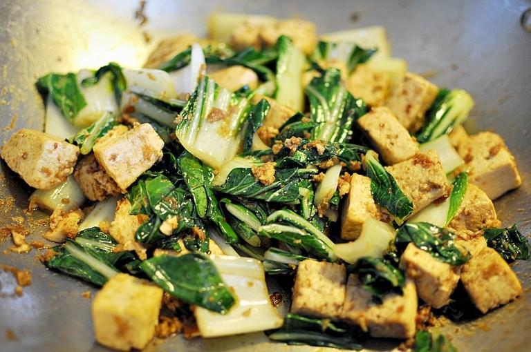 Vegetarian mixed rice