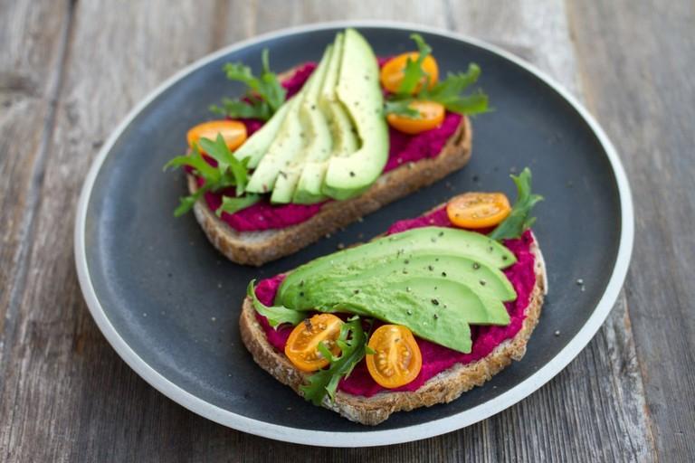avocado toast small