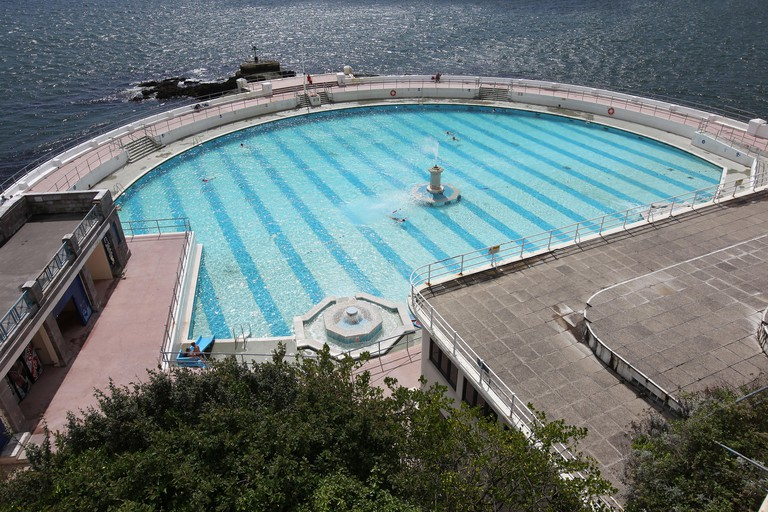 Tinside Lido in Plymouth, Devon
