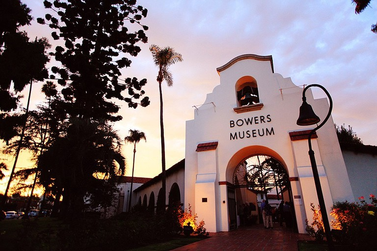 The Bowers art museum in Santa Ana.