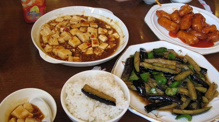 Buddhist dishes
