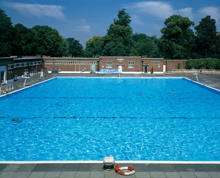 Brockwell Lido Swimming Pool 1930s