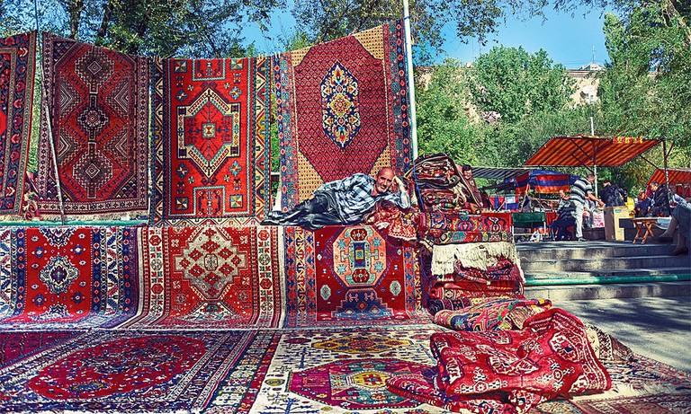 Carpets_in_Yerevan_vernissage