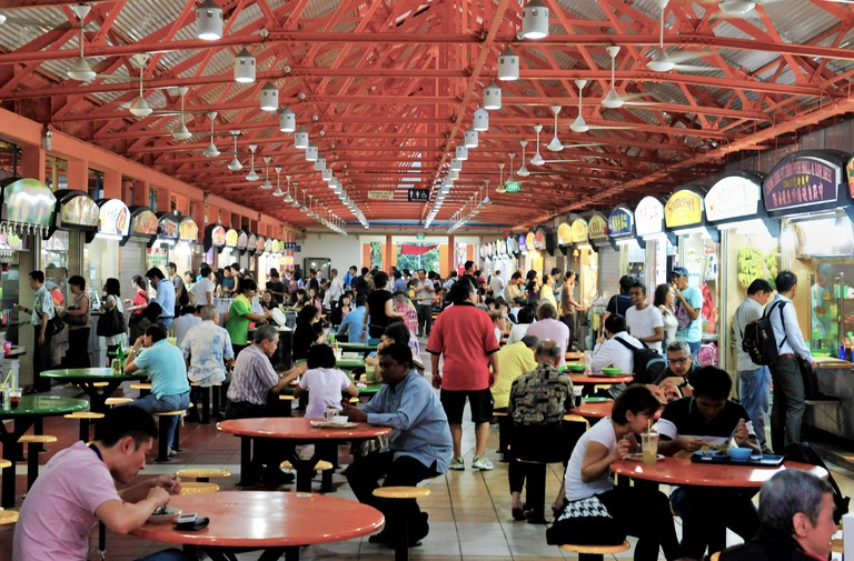 Maxwell Food Centre, Singapore