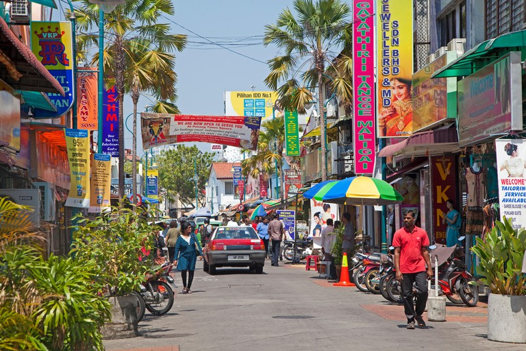 Little India, in George Town
