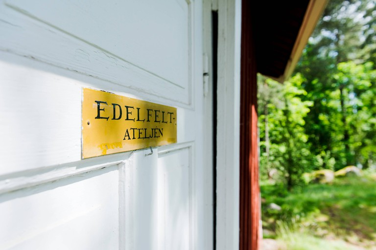 Edelfelt atelier in Porvoo, Finland