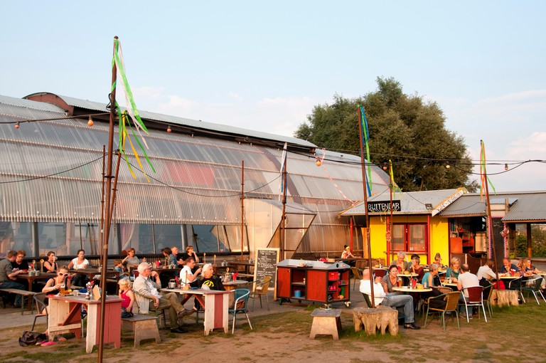 The big draw of the Noorderlicht Café is its summer programme of live music