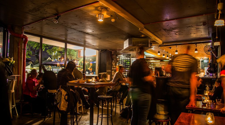 Frisk Small Bar interior © Sit Stay Photography