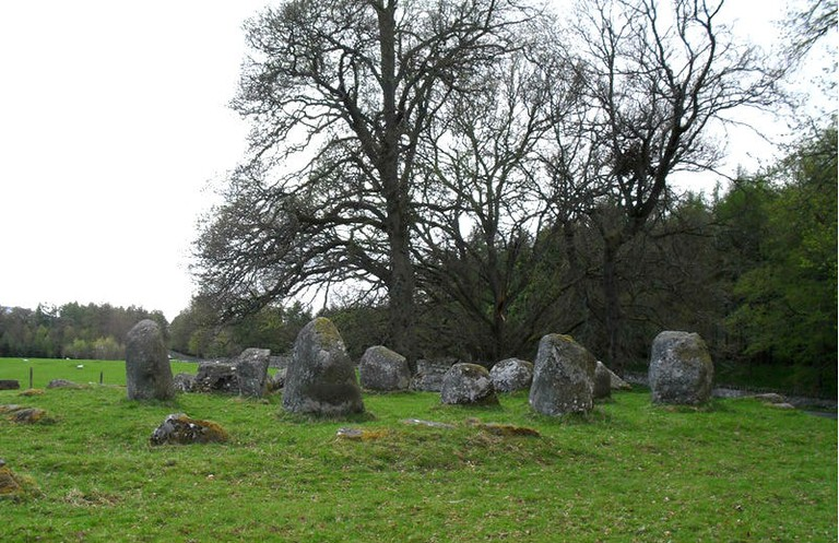 Croft Moraig Stone Circle