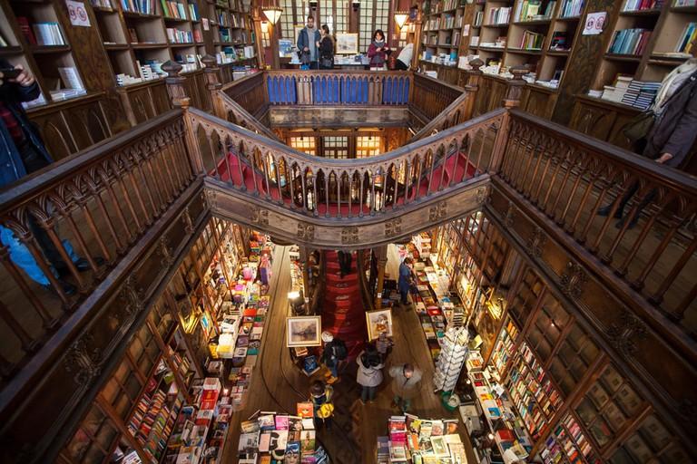 Livraria Lello, Porto, Portugal