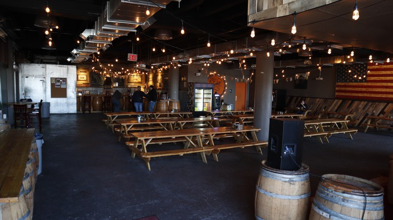 The Flagship Brewing Company offers tours