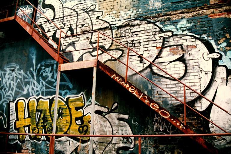 Laneway graffiti in Northbridge, Perth © Nate Robert / Flickr