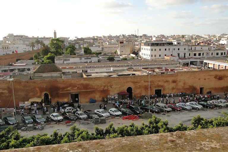 Late-Afternoon_View_over_Medina_(Old_City)_-_From_Hotel_Majestic_-_Rabat_-_Morocco