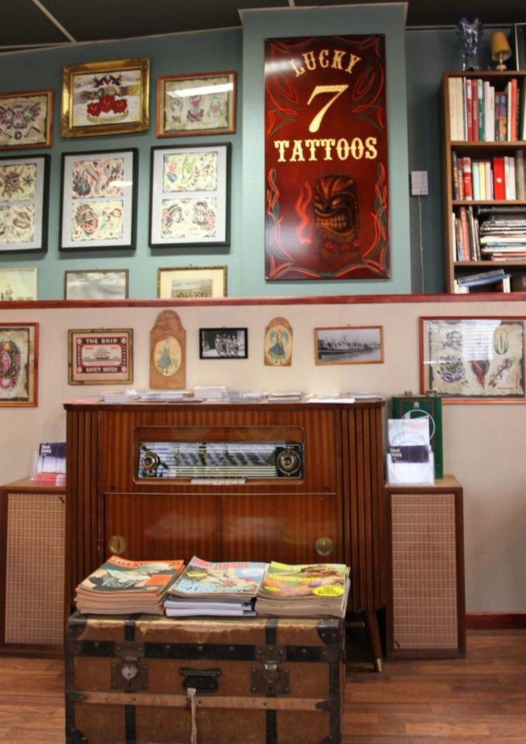 Lucky 7 Tattoos, Courtesy of Lucky 7 Tattoos