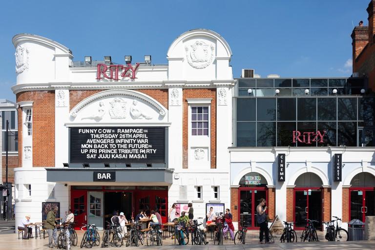 The Ritzy Cinema, Brixton Oval, Coldharbour Lane, Brixton, London Borough of Lambeth, Greater London, England, United Kingdom