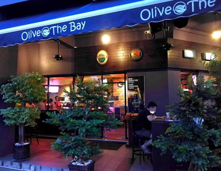 Olive The Bay bar