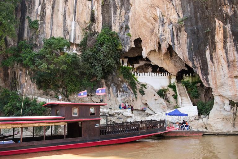 Pak Ou or 'Buddha' Caves, Luang Prabang province, Laos