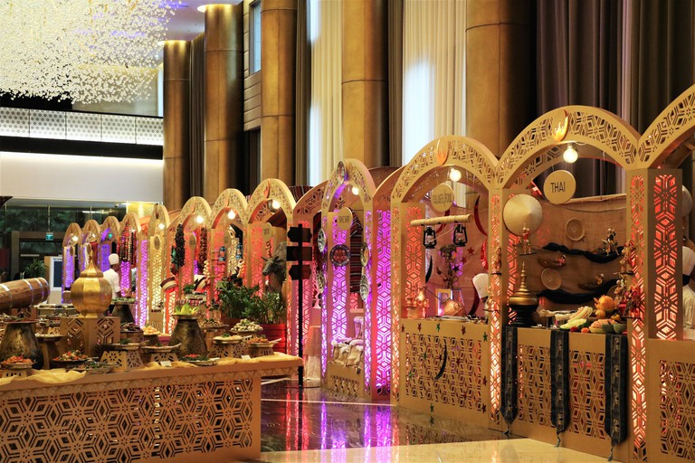 Enjoy a taste of the world with Westin Doha & Spa Hotel's almost live cooking stations