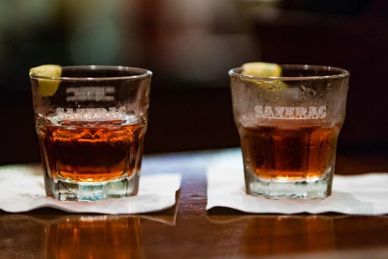 Rye whiskey Sazerac cocktails © Nan Palmero / Flickr