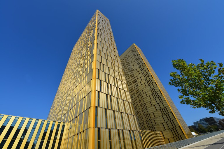 The European Court of Justice on Kirchberg Plateau, Luxembourg