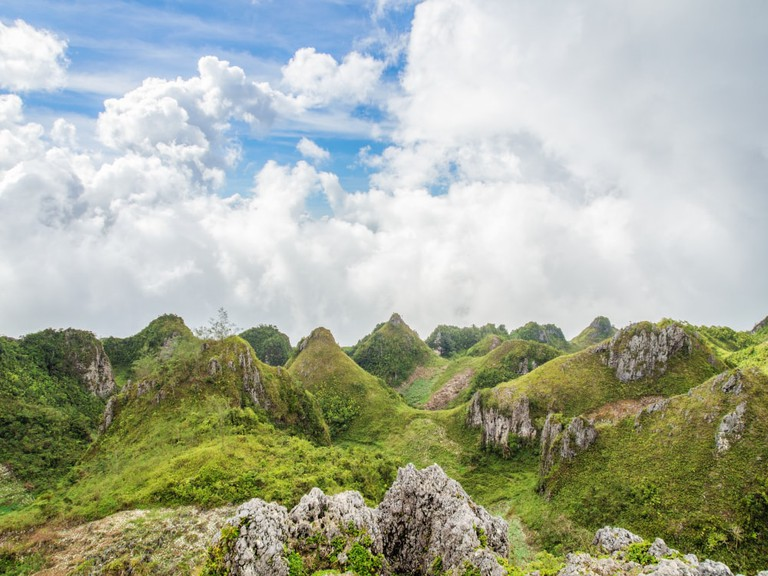 Osmena Peak, Cebu island, Philippines