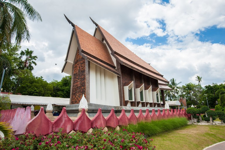Buddhist temple in Nakhon Ratchasima, Thailand