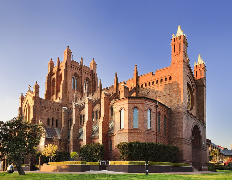 Gothic cathedral of Newcastle in Australia